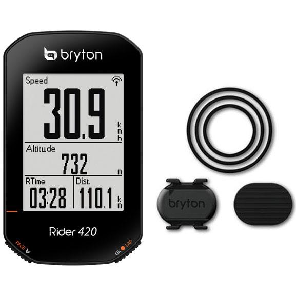 ブライトン Rider420C ケイデンスセンサー付 GPS