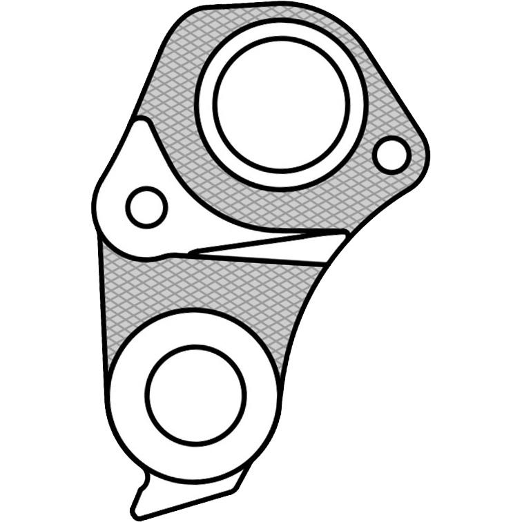 【M便】マーウィー GH-235 GIANT ディレイラーハンガー