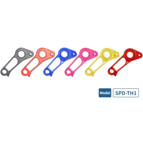 【M便】シゲイー SPD-TH1 SPECIALIZED用 スルーアクスル対応ダイレクトマウントディレイラーハンガー SIGEYI