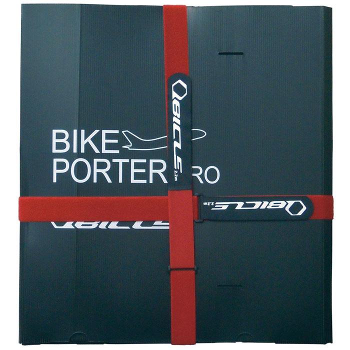 ★キュービクル バイクポーター(Bikeporter) プロサイズ ブラック ベルト2本付