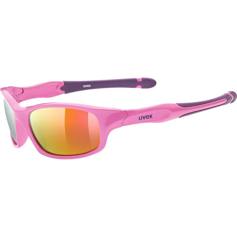ウベックス スポーツスタイル 507 ピンクパープル サングラス