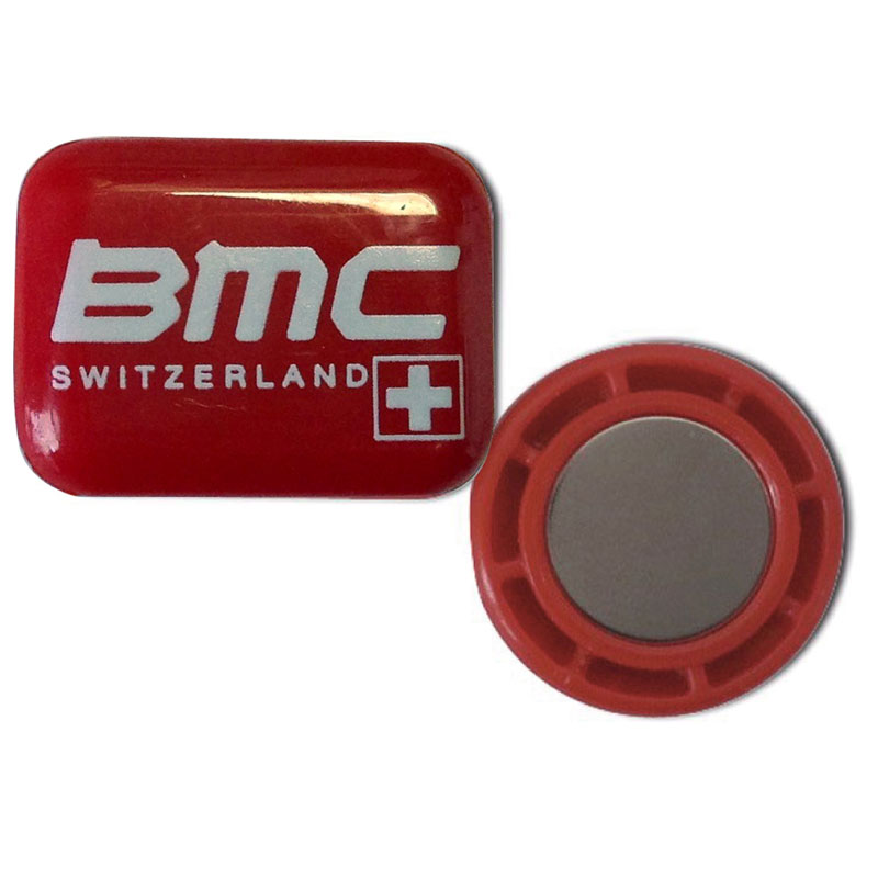 ビブビッツ Safety Pin BMCロゴ 4個セット マグネット式ゼッケンホルダー