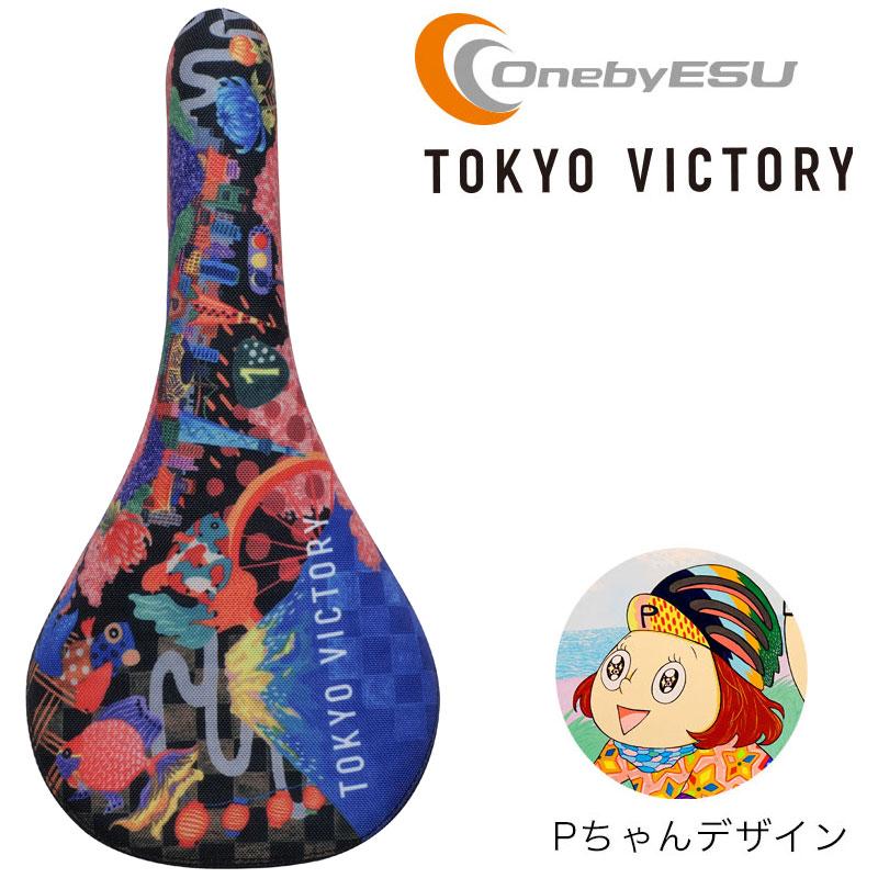 Pちゃん×東京サンエス ナロウサーティー ソウル Pちゃんサイクルコラボ VICTORY  OnebyESU/ワンバイエス サドル