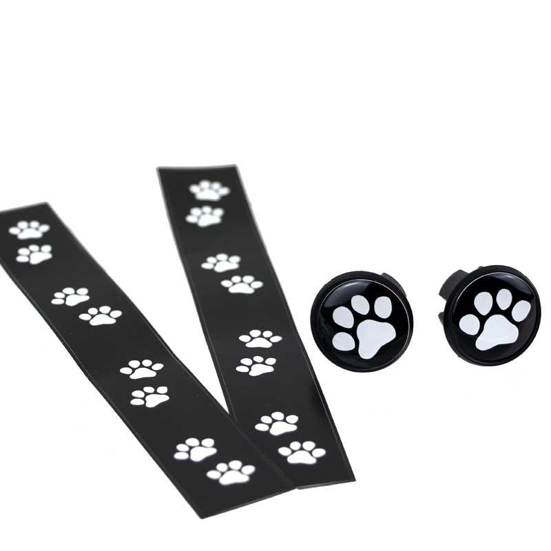 【特急】ポケマル にゃ〜テープ ブラック/ホワイト猫柄
