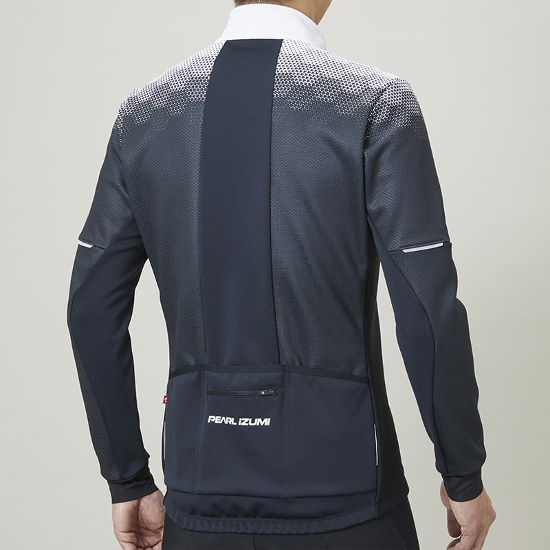 パールイズミ 【3500-BL】ウィンドブレーク ジャケット (5℃対応) 5.ブラック