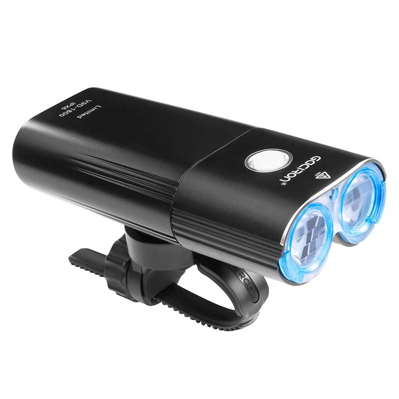 【特急】ガシロン V9D1800 ヘッドライト USB充電