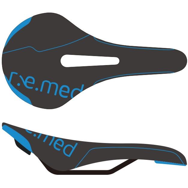セラロイヤル R.e.med 2(リメッド2) ブラック/ブルー サドル