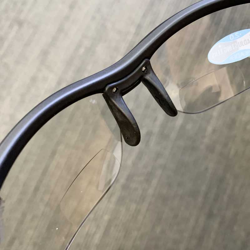 【特急】ティフォージ ヴェローチェ リーダー マットブラック×調光レンズ 老眼度付サングラス