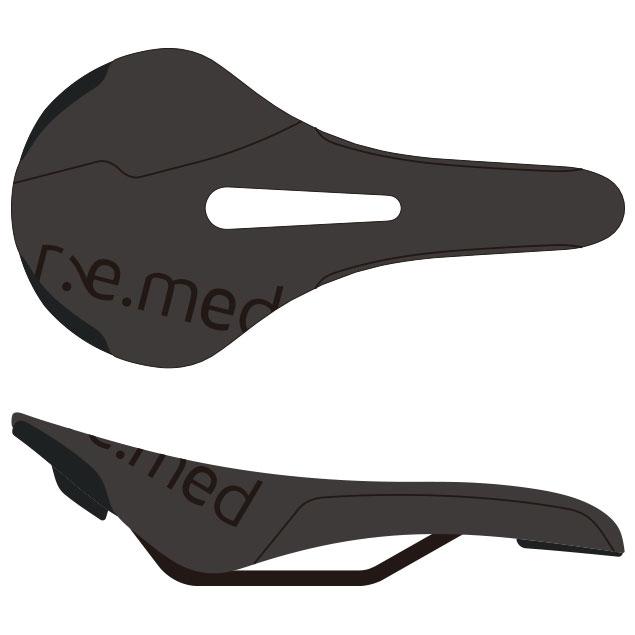 セラロイヤル R.e.med 2(リメッド2) ブラック/ブラック サドル