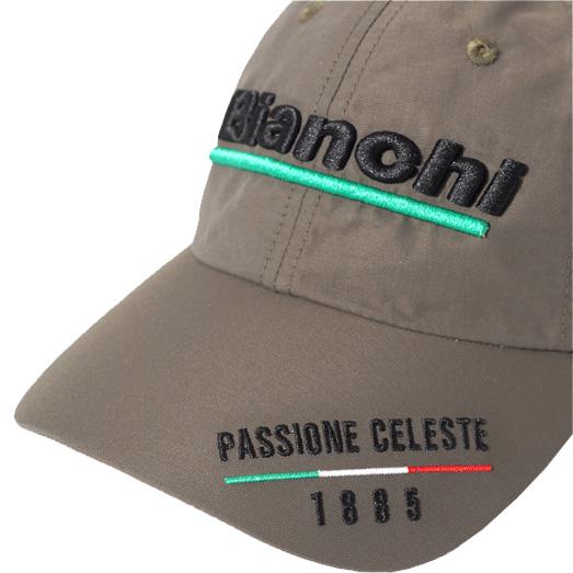 ビアンキ PASSIONE キャップ カーキ (JP191S3202KH000)