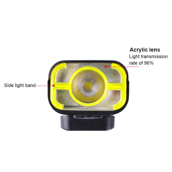 【特急】ガシロン V9C P800ブラック ヘッドライト USB充電