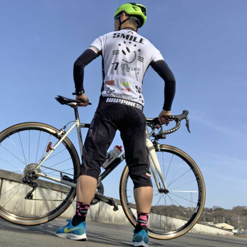 セブンイタリア Racing Smile Jersey ホワイト