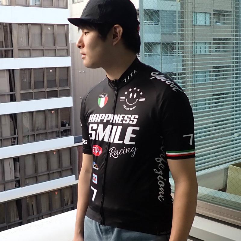 セブンイタリア Racing Smile Jersey ブラック