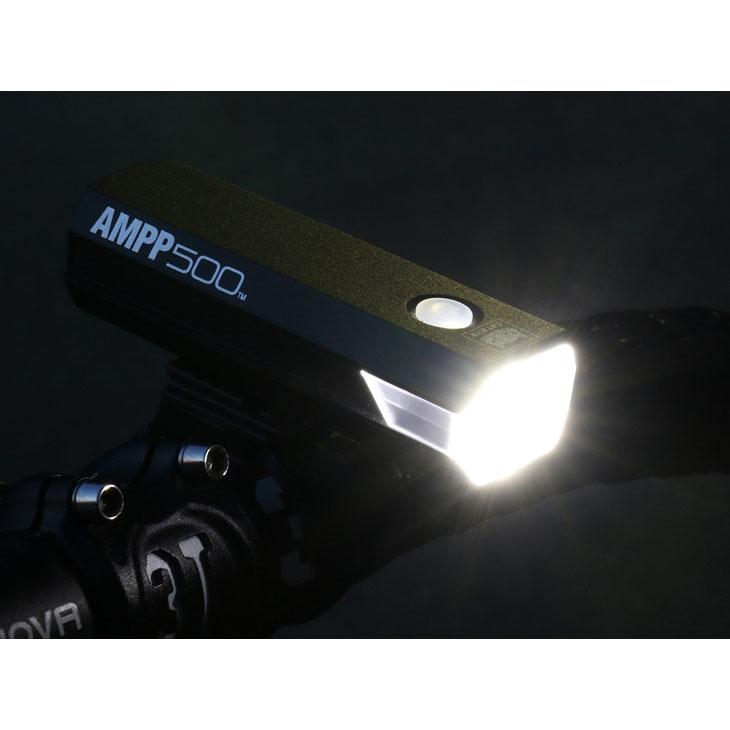 【特急】【SALE】キャットアイ HL-EL085RC AMPP500 ヘッドライト USB充電 ブラック