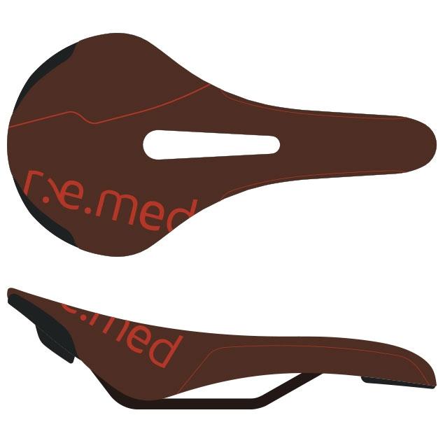 セラロイヤル R.e.med 2(リメッド2) ブラウン サドル