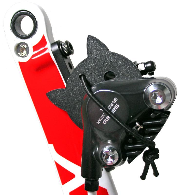 【特急】R250 ディスクブレーキ用 縦型軽量輪行袋 ブラック フレーム/スプロケットカバー・輪行マニュアル ダミーローター・12mmスルーアクスル用エンド金具付属