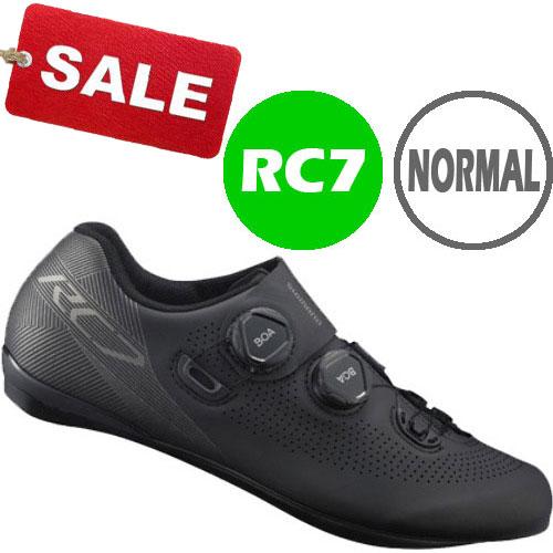 【特急】【SALE】シマノ RC7(SH-RC701) ブラック ノーマルタイプ SPD-SL シューズ BOA