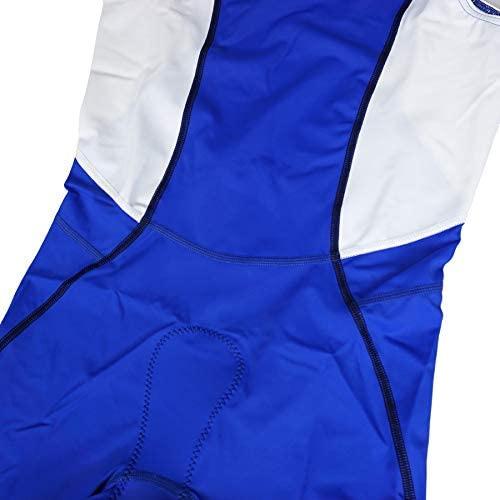 フーブ JAPSN LIMITED リアジップスーツ ブルー/ホワイト