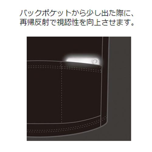【特急】パールイズミ 【52】 ウォータープルーフ ライドウォレット  2.グレー