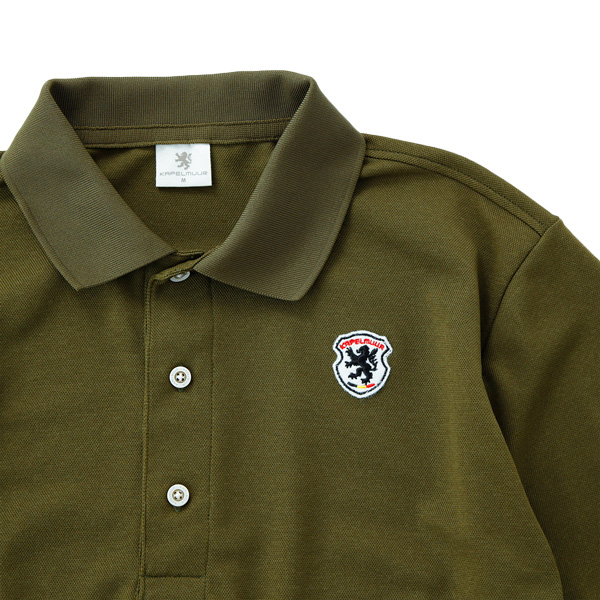 カペルミュール 半袖ポロシャツ ヴィンテージカーキ