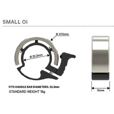 【M便】ノグ Oi スモール(22.2mm径対応) ベル
