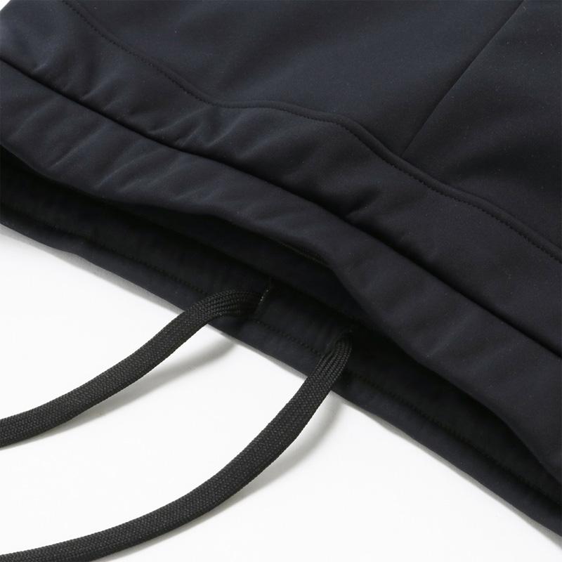 カペルミュール 防風ストレッチパンツ ブラック プラチナパッド レディース