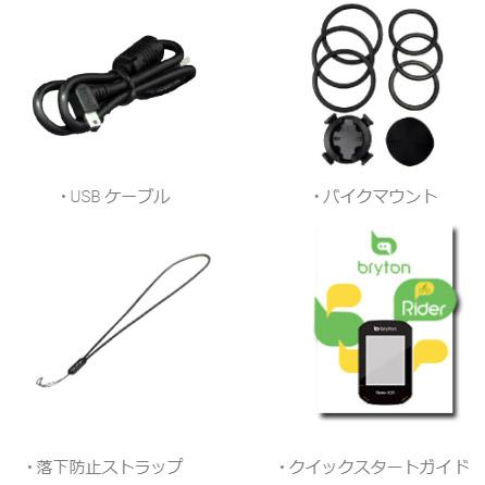【特急】ブライトン Rider420E (本体のみ) GPS