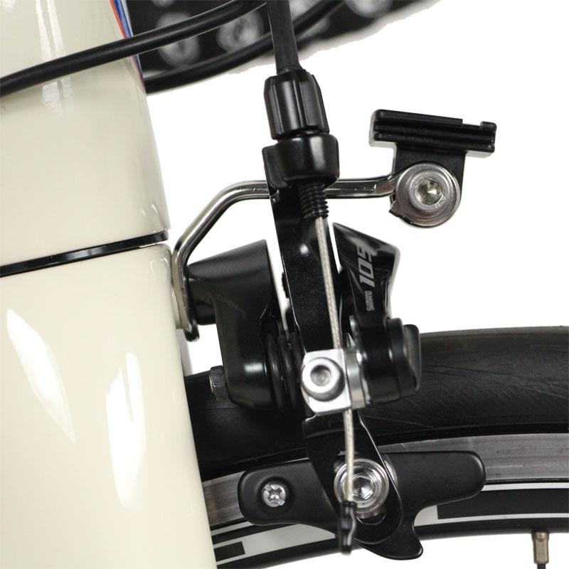 【特急】R250 ロードバイク用ライトブラケット キャットアイ用 シルバー