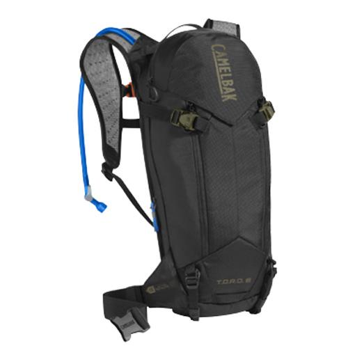 キャメルバック トーロー プロテクター 8 ブラック/バーントオリーブ ハイドレーションバッグ