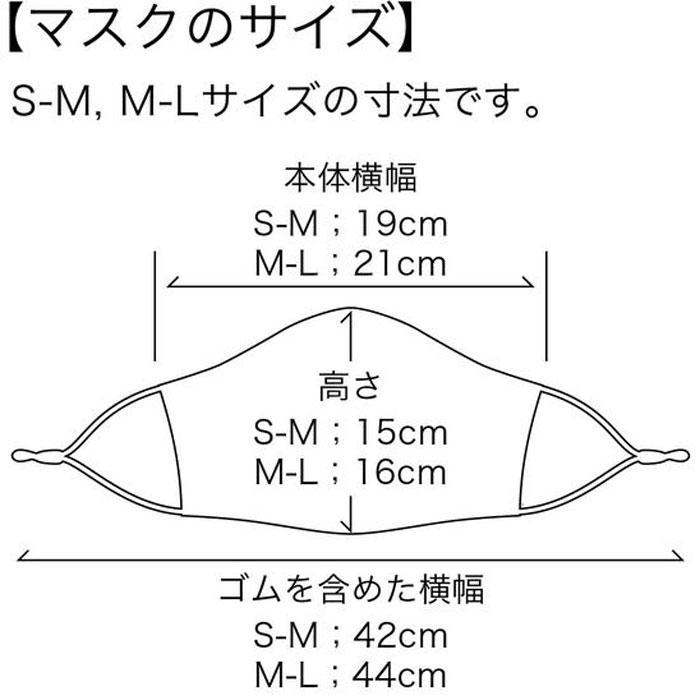【M便】パールイズミ 【MSK-03】 ベンチレーション マスク 2.グレー 1枚 布マスク