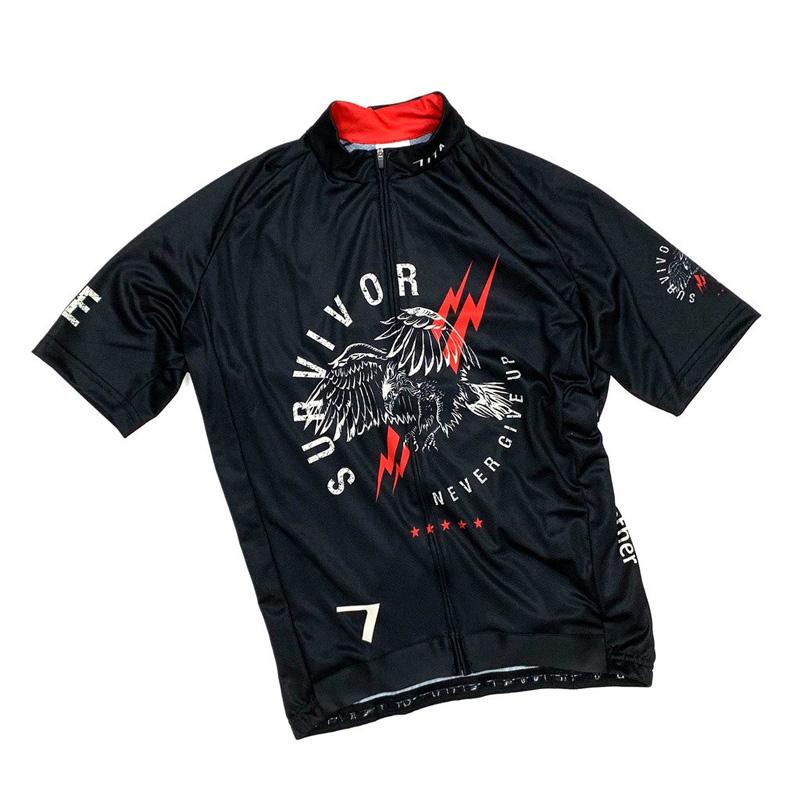 セブンイタリア Survivor Jersey ブラック