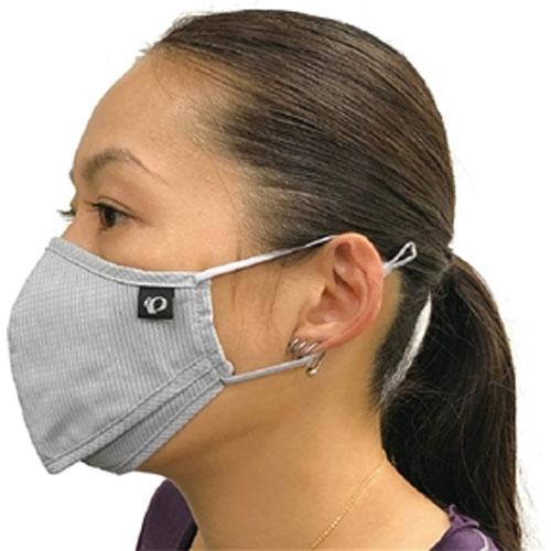 【M便】パールイズミ 【MSK-03】 ベンチレーション マスク 3.ネービー 1枚 布マスク