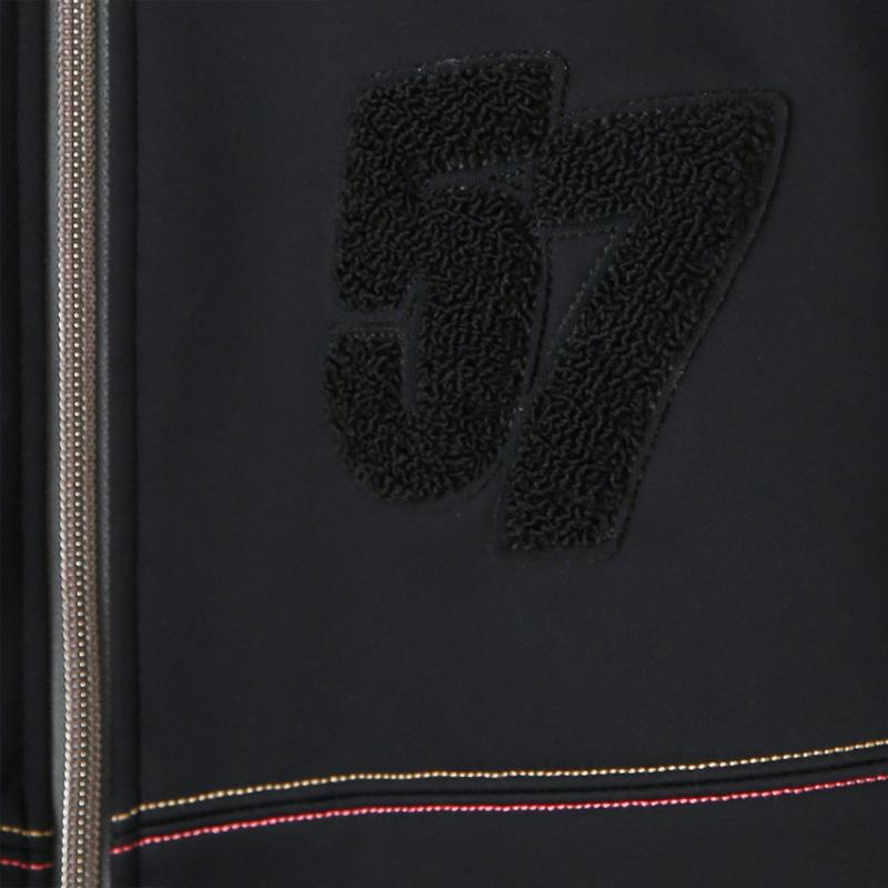 カペルミュール ウインドシールド57ジャケット サガラ刺繍 ブラック