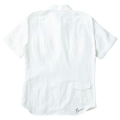 レリック サファリシャツ ホワイト