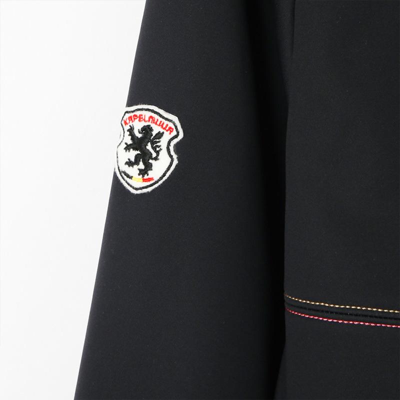 カペルミュール ウインドシールド57ジャケット サガラ刺繍 ブラック レディース