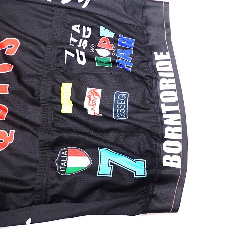 セブンイタリア Hope Jersey ブラック