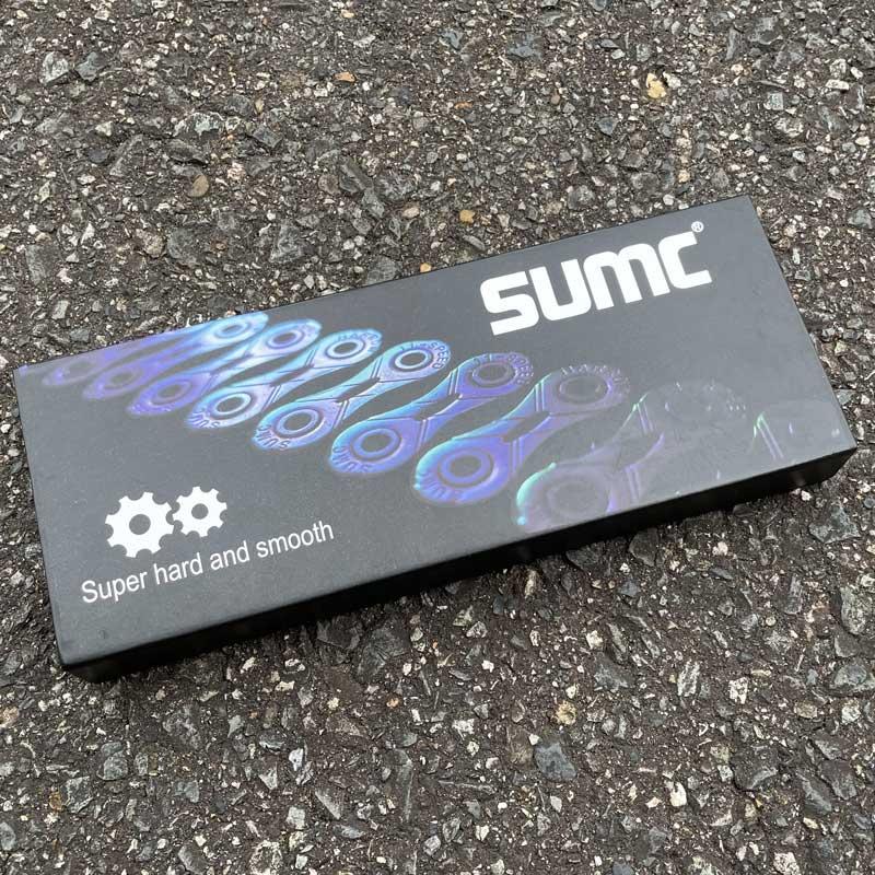 【特急】SUMC チェーン SX11SL レインボー 11段