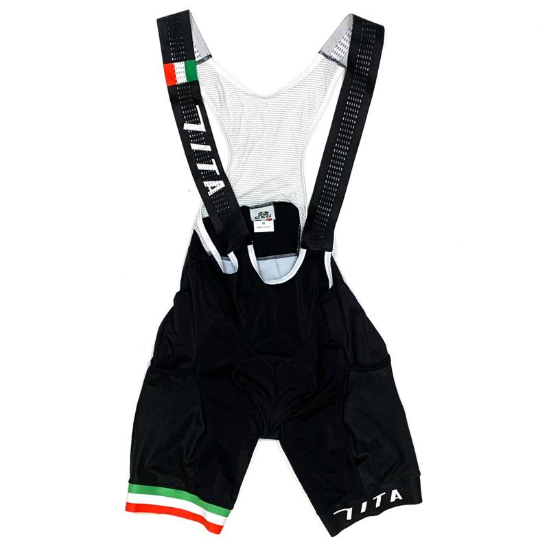 セブンイタリア Trailer X Bibshorts ブラック サイドポケット付き