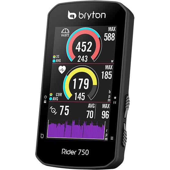 【特急】ブライトン Rider750T トリプルキット(ケイデンス、スピード、心拍センサー付) GPS