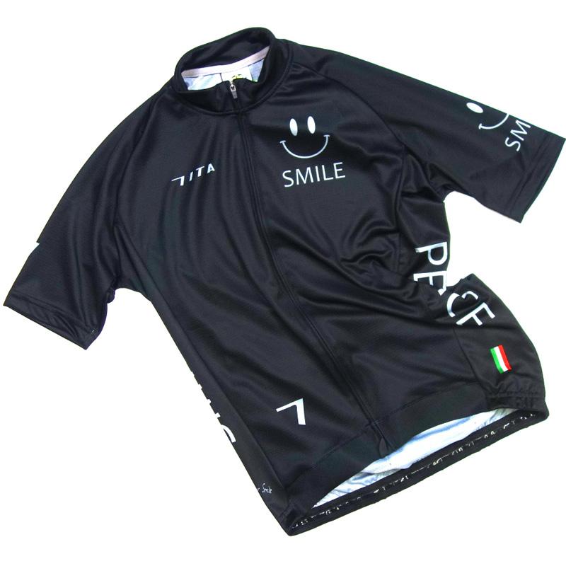 セブンイタリア Neo Happiness Smile Jersey ブラック