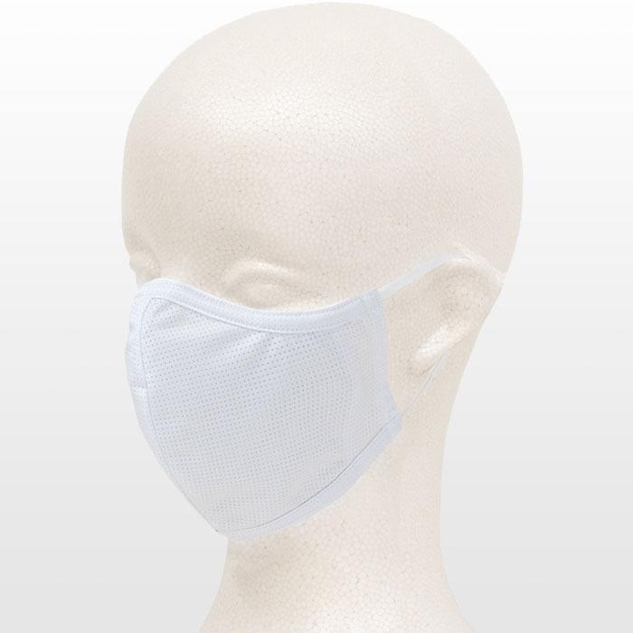 【特急】【SALE】【M便】サンボルト 洗って使える 夏用 布マスク 1枚 白