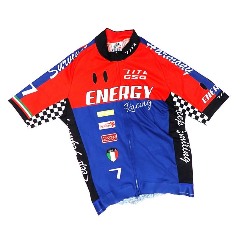 セブンイタリア Racing III Jersey レッド/ネイビー