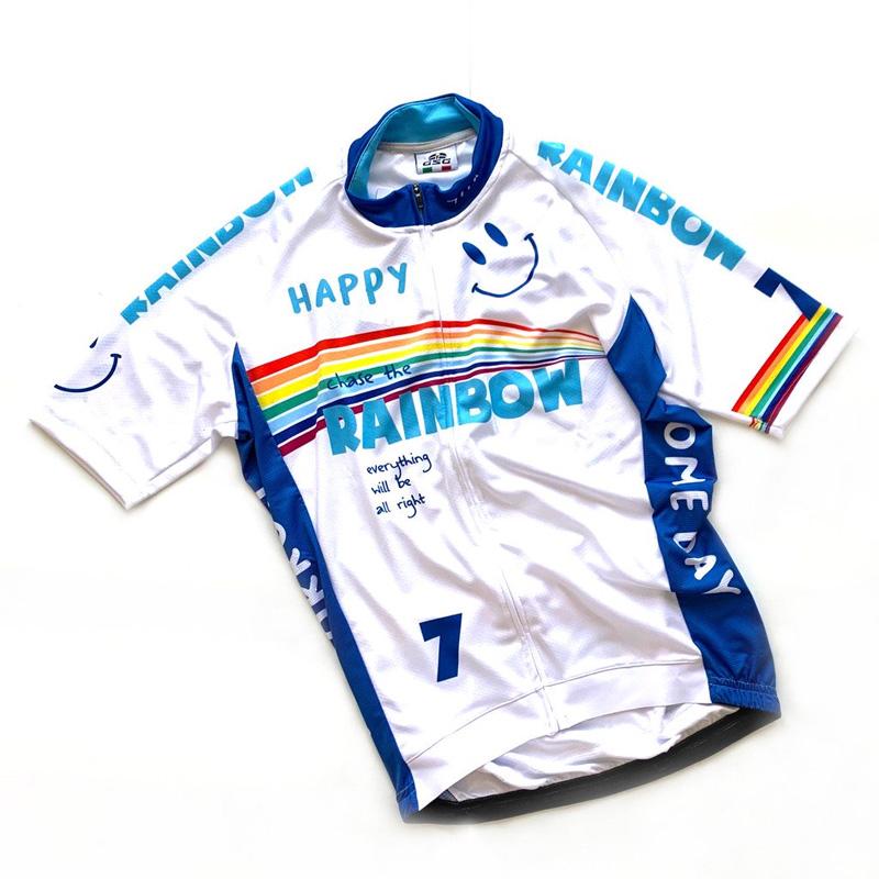 セブンイタリア Rainbow Smile 3 Jersey ホワイト