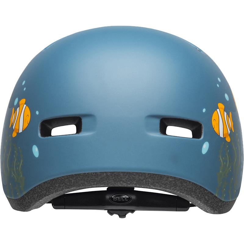 ベル リルリッパー マットグレー/ブルーフィッシュ ヘルメット