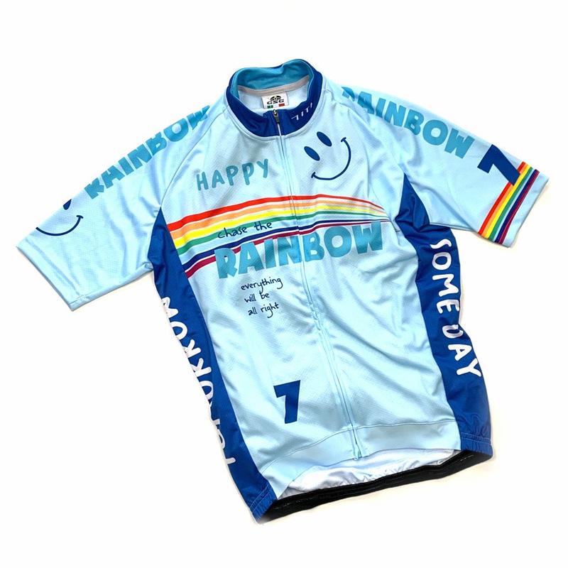 セブンイタリア Rainbow Smile 3 Jersey スカイ