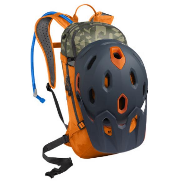 キャメルバック ミュール LR 15 ラセットオレンジ/カモフラージュ ハイドレーションバッグ