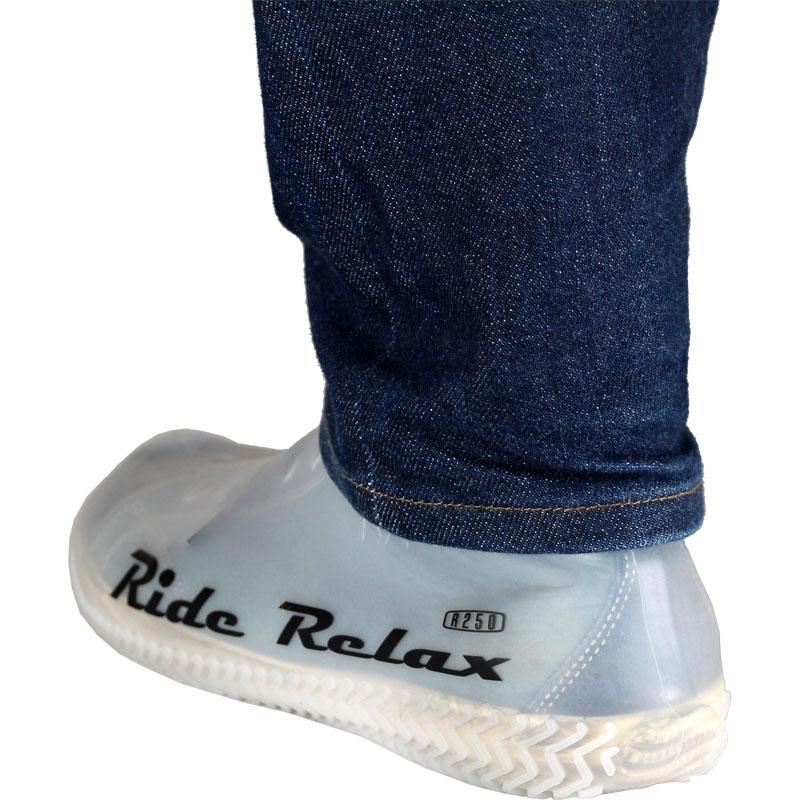 【特急】【SALE】【M便】R250 防水シリコンシューズカバー クリアー