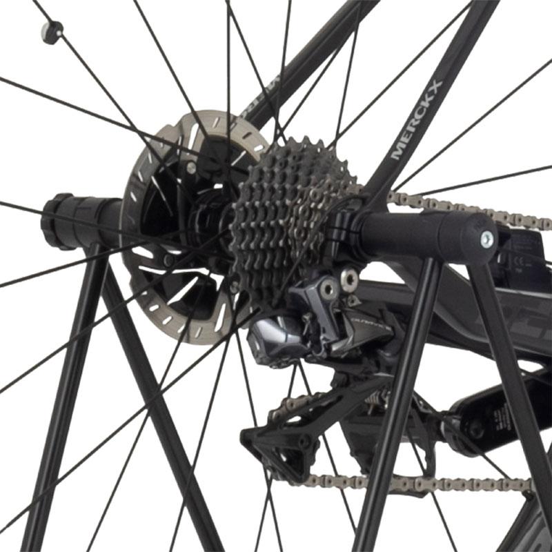 【特急】ミノウラ DS-30TA レバーレススルーアクスル専用スタンド 後輪ハブ軸取り付けタイプ