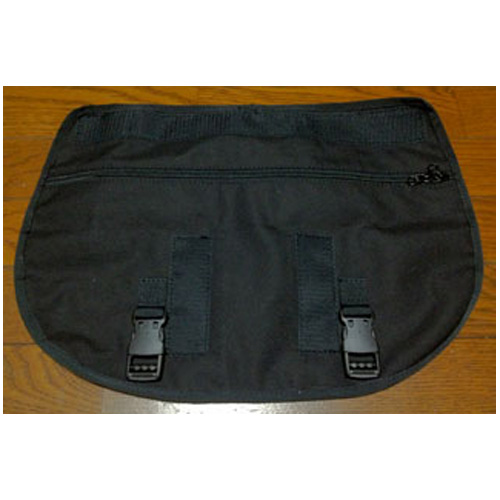 Filter Bromptonフロントバッグ用フラップ ブラック