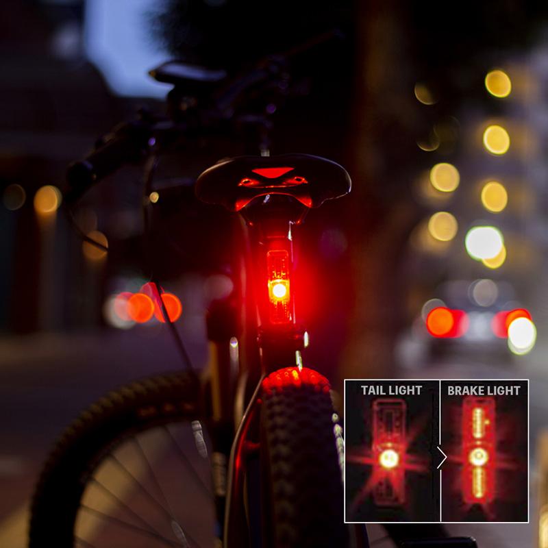 クロップス BL600mu テールライト 自動点滅 USB充電